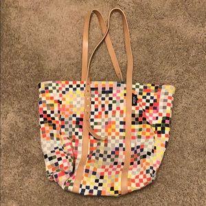 Cute canvas purse by Kate Spade Saturday